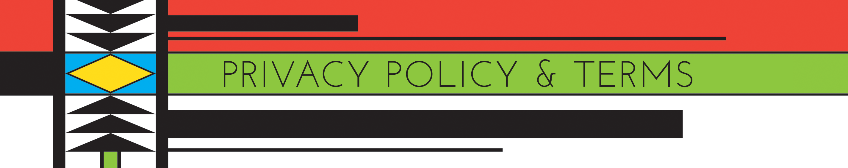 Privacy Policy & Terms Header